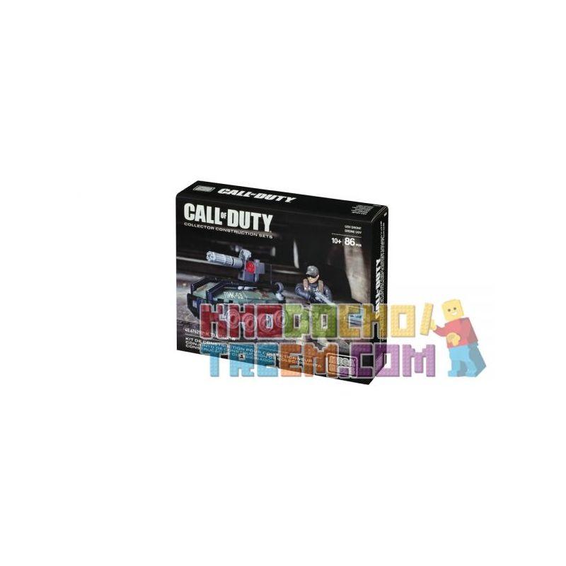 MEGA BLOKS CNG75 Xếp hình kiểu Lego CALL OF DUTY Call-of-duty UGV Drone Máy Bay Không Người Lái UGV 86 khối