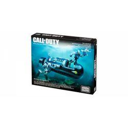 MEGA BLOKS CNG80 Xếp hình kiểu Lego CALL OF DUTY SEAL Sub Recon Call-of-duty SEAL Submarine Reconnaissance Trinh Sát Tàu Ngầm SEAL 171 khối