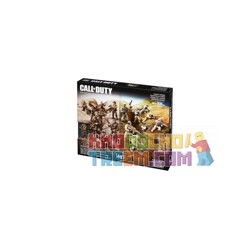 MEGA BLOKS CPC67 Xếp hình kiểu Lego CALL OF DUTY Legacy Heroes Call-of-duty Legendary Hero Anh Hùng Huyền Thoại 308 khối