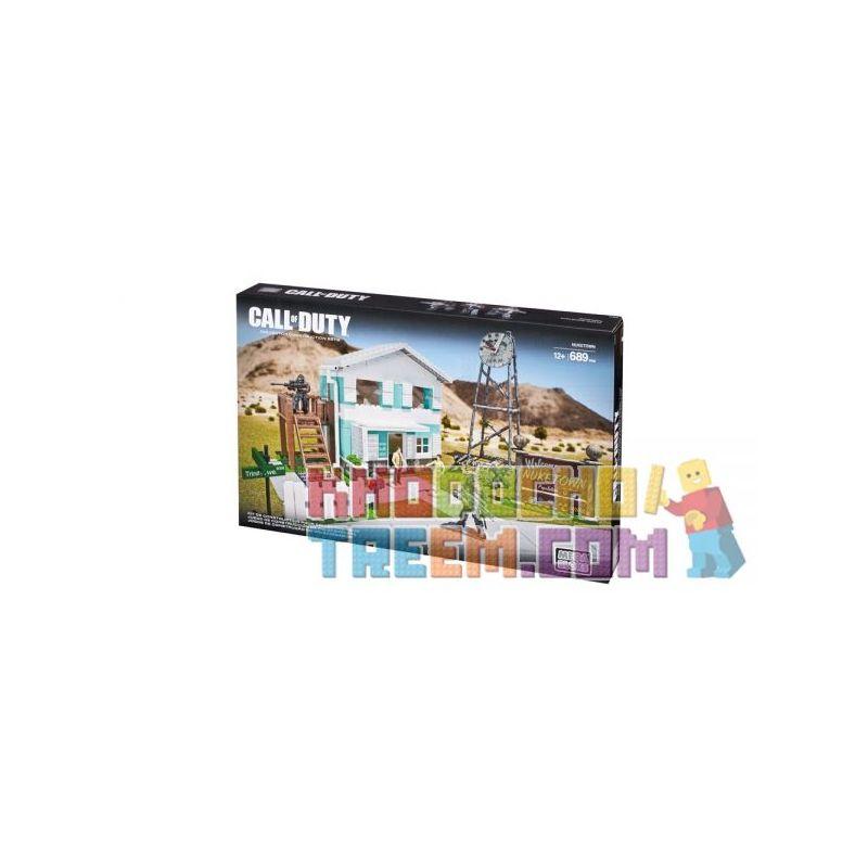 MEGA BLOKS CYR73 Xếp hình kiểu Lego CALL OF DUTY Nuketown Call-of-duty Nuclear Explosion Town Thị Trấn Nổ Hạt Nhân 689 khối