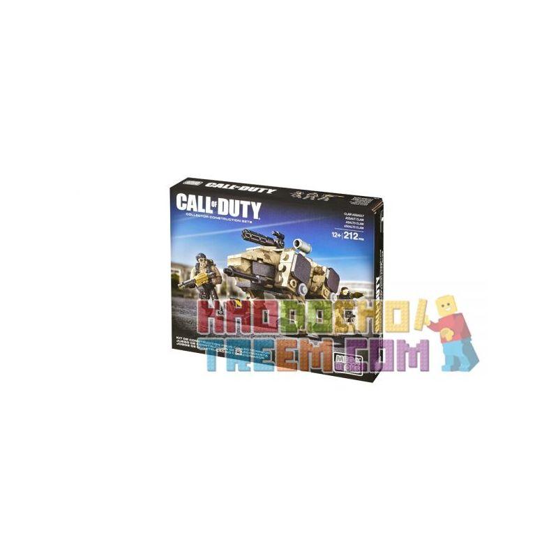 MEGA BLOKS DCL10 Xếp hình kiểu Lego CALL OF DUTY CLAW Assault Call-of-duty CLAW Attack CLAW Tấn Công 212 khối
