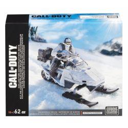 MEGA BLOKS DPW83 Xếp hình kiểu Lego CALL OF DUTY Snowmobile Recon Call-of-duty Snowmobile Detection Phát Hiện Xe Trượt Tuyết 62 khối