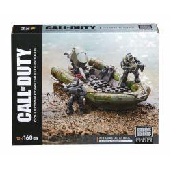 MEGA BLOKS DPW84 Xếp hình kiểu Lego CALL OF DUTY Call-of-duty RIB Coastal Attack 160 khối