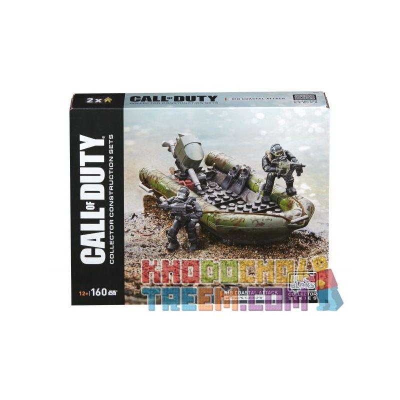 MEGA BLOKS DPW84 Xếp hình kiểu Lego RIB Coastal Attack Call Of Duty RIB Coast Attack Bờ Biển Tấn Công 160 khối