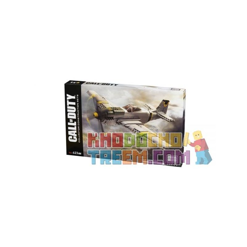 MEGA BLOKS DPW87 Xếp hình kiểu Lego CALL OF DUTY Air Strike Ace Call-of-duty Ace Air Strike 623 khối