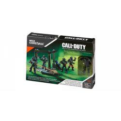 MEGA BLOKS DXB61 Xếp hình kiểu Lego CALL OF DUTY Night Ops Blackout Squad Call-of-duty Night Special Operations Team Đội Hoạt động đặc Biệt Ban đêm 117 khối