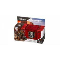 MEGA BLOKS DYD74 Xếp hình kiểu Lego CALL OF DUTY Call-of-duty Mercenary Outpost Armory Quân đội Tiền đồn Lính đánh Thuê 78 khối