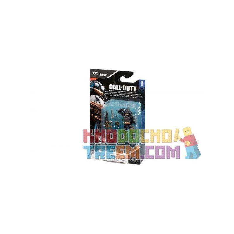 MEGA BLOKS FDY66 Xếp hình kiểu Lego CALL OF DUTY Call-of-duty Combat Diver Thợ Lặn Chiến đấu 26 khối