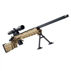 PanlosBrick 670002 Panlos Brick 670002 Xếp hình kiểu Lego MILITARY ARMY Sniper Rifle M24 Rifle Súng Trường M24 1086 khối
