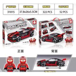 LEYI 31015 Xếp hình kiểu Lego RACING Passion Car Glasses Snake Back Car Rắn Hổ Mang Lùi Xe 322 khối