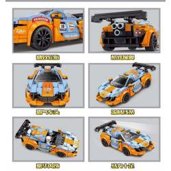 LEYI 31018 Xếp hình kiểu Lego RACING Passion Car Sun God Back Sun God Back. 325 khối