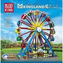 MOULDKING MOULD KING 11006 Xếp hình kiểu Lego CREATOR Ferris Wheel Đu Quay 3836 khối