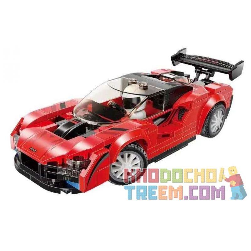 Enlighten 14012 Qman 14012 KEEPPLEY 14012 Xếp hình kiểu Lego MINECITY My City Saina S5N-N1 198 khối