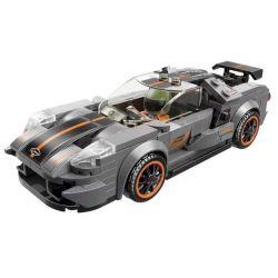 Enlighten 14014 Qman 14014 KEEPPLEY 14014 Xếp hình kiểu Lego MINECITY My City Ferd GT-40 197 khối