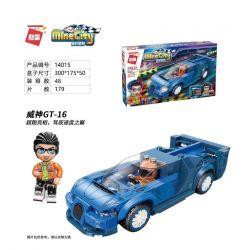 Enlighten 14015 Qman 14015 KEEPPLEY 14015 Xếp hình kiểu Lego MINECITY My City Wei Shen GT-16 179 khối