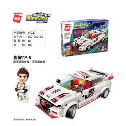 Enlighten 14022 Qman 14022 KEEPPLEY 14022 Xếp hình kiểu Lego MINECITY My City Royal TP-R Hoàng Gia Tp-r 302 khối