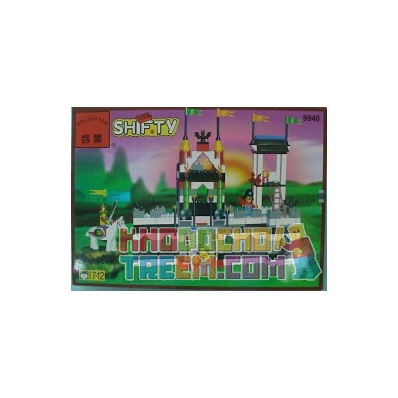 Enlighten 9940 Qman 9940 KEEPPLEY 9940 Xếp hình kiểu Lego Bat Castle Lâu đài Dơi