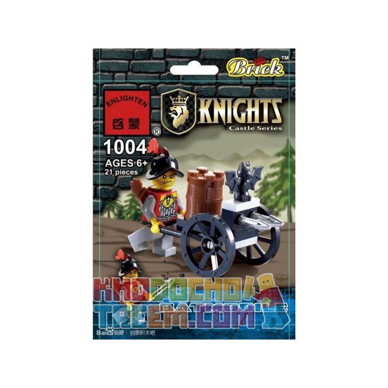 Enlighten 1004 Qman 1004 KEEPPLEY 1004 Xếp hình kiểu Lego Batmobile Bat Chariot Xe Dơi 21 khối