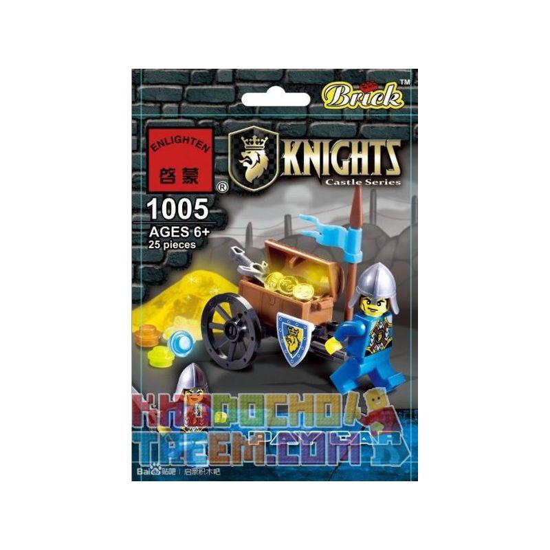 Enlighten 1005 Qman 1005 KEEPPLEY 1005 Xếp hình kiểu Lego Pay Car Army Car Xe Quân Sự 25 khối