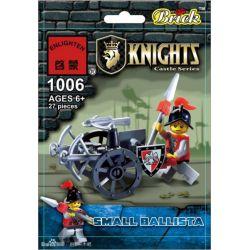 Enlighten 1006 Qman 1006 KEEPPLEY 1006 Xếp hình kiểu Lego Small Ballista Nhỏ 27 khối