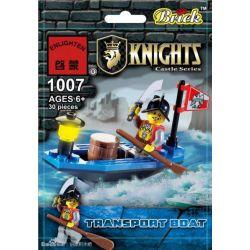 Enlighten 1007 Qman 1007 KEEPPLEY 1007 Xếp hình kiểu Lego Transport Boat Shibao Ship Tàu Kho Báu 30 khối