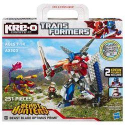 KRE-O A2203 2203 Xếp hình kiểu Lego Beast Blade Optimus Prime Building Set Beast-edging Beast-edging. 251 khối