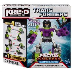 KRE-O A2224 2224 Xếp hình kiểu Lego Constructicon Devastator Set Great God Thần Vĩ đại 77 khối