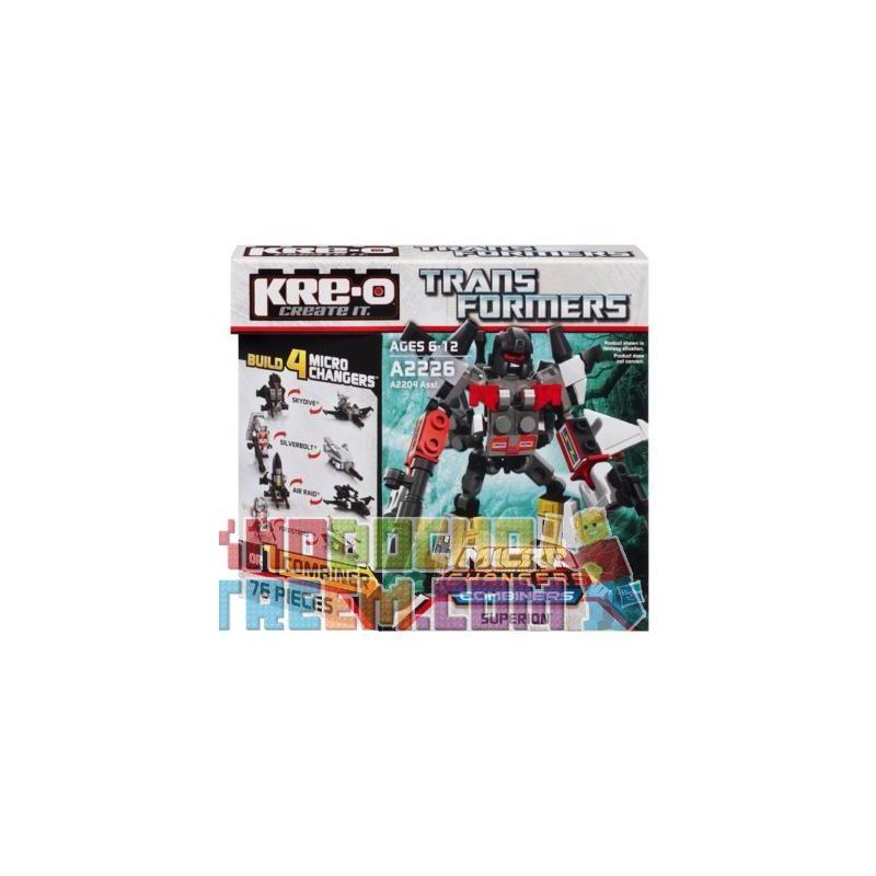 KRE-O A2226 2226 Xếp hình kiểu Lego Superion Set Fearless Không Sợ Hãi 76 khối