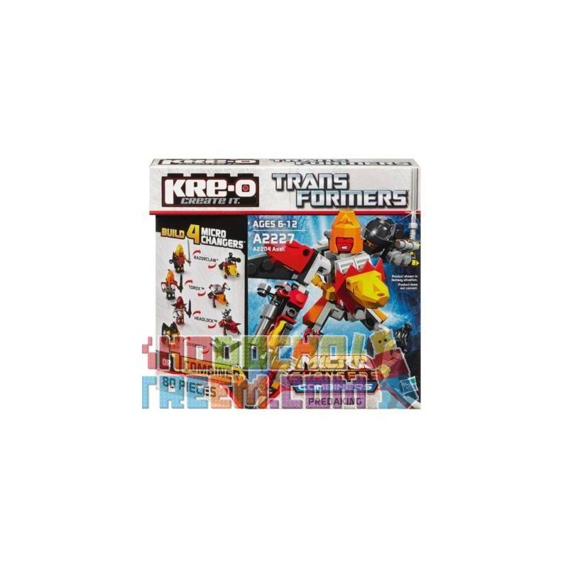 KRE-O A2227 2227 Xếp hình kiểu Lego Predaking Set Flush Bay Bổng 80 khối