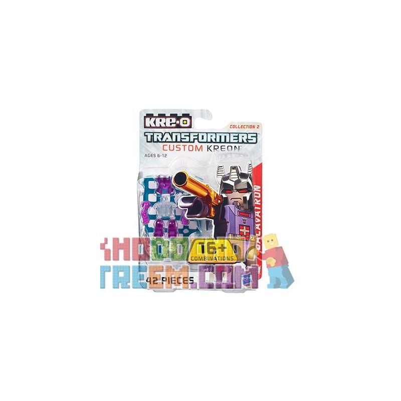KRE-O A7316 7316 Xếp hình kiểu Lego COLLECTABLE MINIFIGURES Custom KREON Galvatron Set Customized Kreon Nhân Vật Nhỏ KREON Tùy Chỉnh Gây Chấn động Bầu Trời 42 khối