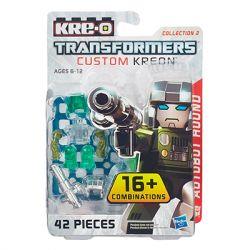 KRE-O A7317 7317 Xếp hình kiểu Lego COLLECTABLE MINIFIGURES Custom KREON Autobot Hound Set Customized Kreon Trình Kiểm Tra Cấu Hình Nhỏ KREON Tùy Chỉnh 42 khối