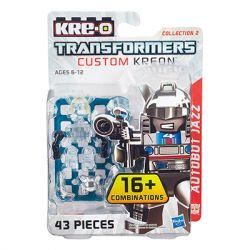 KRE-O A7318 7318 Xếp hình kiểu Lego COLLECTABLE MINIFIGURES Custom KREON Autobot Jazz Set Kreon Jazz KREON Tùy Chỉnh Minifigure Jazz 41 khối