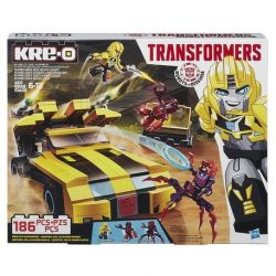 KRE-O B0949 0949 Xếp hình kiểu Lego Bumblebee Disc Demolisher Brazzle Frisset Frisset Brazzle 186 khối