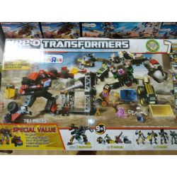KRE-O A1266 1266 Xếp hình kiểu Lego Autobot Assault Devastator Car People Attack Strong God Autobots Tấn Công Hercules 781 khối