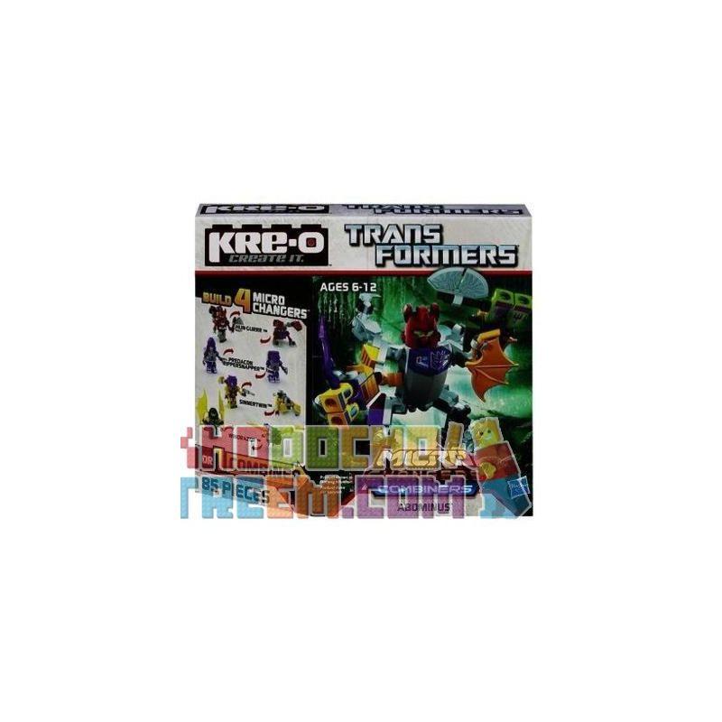 KRE-O A4473 4473 Xếp hình kiểu Lego Abominus Building Set Request Rain Quỷ Mưa 85 khối