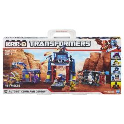 KRE-O A5412 5412 Xếp hình kiểu Lego Autobot Command Center Carman Command Center Trung Tâm Chỉ Huy Autobot 461 khối