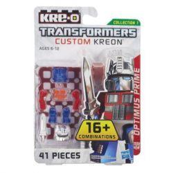 KRE-O A6085 6085 Xếp hình kiểu Lego TRANSFORMERS Kre-O Transformers Custom Kreon Optimus Prime Set KRE-O Transformers Customized People Optimus Kre-O Transformers Tùy Chỉnh Minifigure Optimus Prime 41