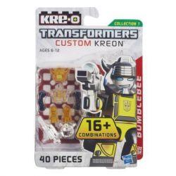 KRE-O A6087 6087 Xếp hình kiểu Lego TRANSFORMERS Kre-O Transformers Custom Kreon Bumblebee Set KRE-O Transformer Custom People Người Tùy Chỉnh Biến áp Kre-o 40 khối