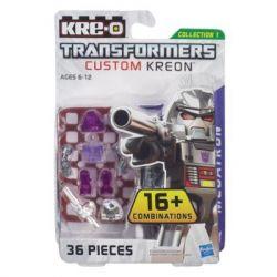 KRE-O A6088 6088 Xếp hình kiểu Lego TRANSFORMERS Kre-O Transformers Custom Kreon Megatron Set KRE-O Transformers Custom Human Kre-O Transformers Tùy Chỉnh Minifigure Megatron 36 khối
