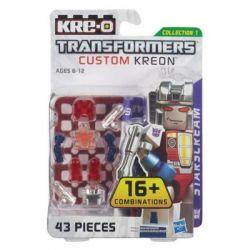 KRE-O A6089 6089 Xếp hình kiểu Lego TRANSFORMERS Kre-O Transformers Custom Kreon Starscream Set Kre-o Transformers Custom Human Red Spider Kre-O Transformers Tùy Chỉnh Minifigure Starscream 36 khối