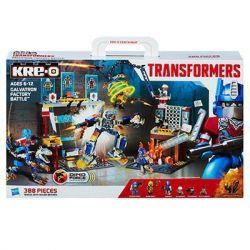 KRE-O A6952 6952 Xếp hình kiểu Lego FACTORY Galvatron Factory Battle Set Attacking The Battle Of Tiangong Factory Tấn Công Nhà Máy Tiangong 388 khối