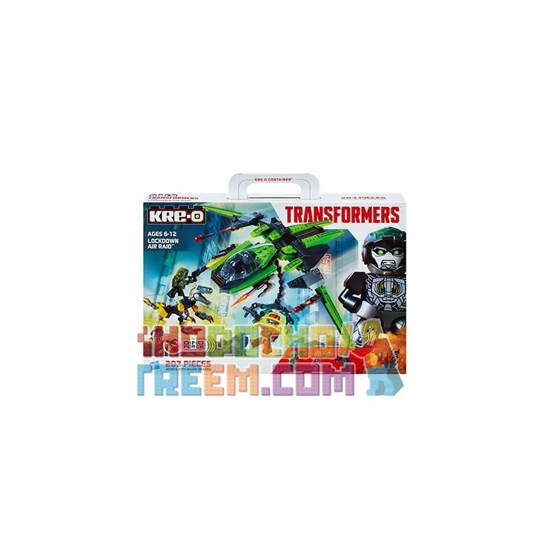 KRE-O A6956 6956 Xếp hình kiểu Lego Lockdown Air Raid Disabled Air Strike Cuộc Không Kích Giam Giữ 203 khối
