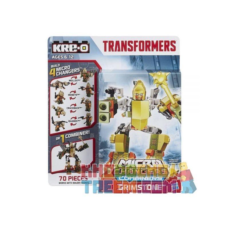 KRE-O A7827 7827 Xếp hình kiểu Lego Grimstone Bronter Đá Cứng 100 khối