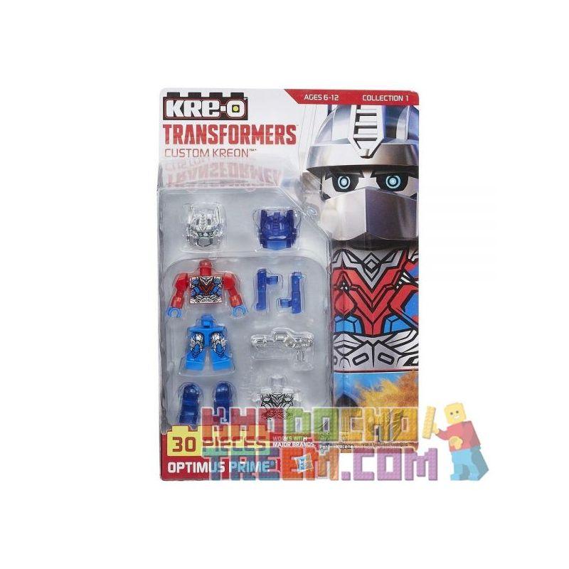 KRE-O A7836 7836 Xếp hình kiểu Lego COLLECTABLE MINIFIGURES Custom KREON Optimus Prime KRE-O Custom People Cấu Hình Mini Tùy Chỉnh Kre-O Optimus Prime 30 khối