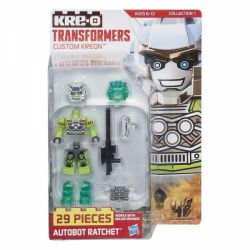 KRE-O A7837 7837 Xếp hình kiểu Lego COLLECTABLE MINIFIGURES Custom KREON Autobot Ratchet KRE-O Custom Human Ambulance Xe Cứu Thương Minifigure Tùy Chỉnh Kre-O 29 khối