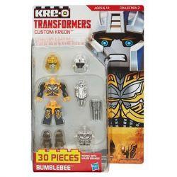 KRE-O A9229 9229 Xếp hình kiểu Lego COLLECTABLE MINIFIGURES Custom KREON Bumblebee Set KRE-O Custom Human Bees Bumblebee Minifigure Tùy Chỉnh Kre-O 30 khối