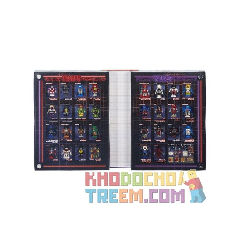 KRE-O B5152 5152 Xếp hình kiểu Lego DC COMICS SUPER HEROES KREO Transformers Cybertron Class Of '85 Yearbook (SDCC2015) KREO Transformers Cybertron Class Of '85 Niên Giám (SDCC2015)