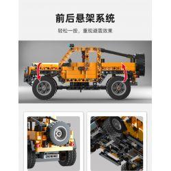 COGO 15800A 15800B Xếp hình kiểu Lego TECHNIC Tech-Storm Two Riders 2 Climbing Beasts, President Of Violence Xe địa Hình 2 Loại, Thú Leo Núi, Tổng Thống Bạo Lực gồm 2 hộp nhỏ 992 khối