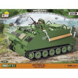 COBI 2236 2236 Xếp hình kiểu Lego MILITARY ARMY M113 APC M113 APC. 510 khối