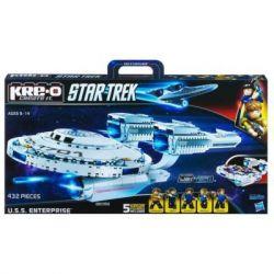 KRE-O A3137 3137 Xếp hình kiểu Lego U.S.S. Enterprise Construction Set U.s.s. Enterprise Number Số Doanh Nghiệp U.S.S. 432 khối